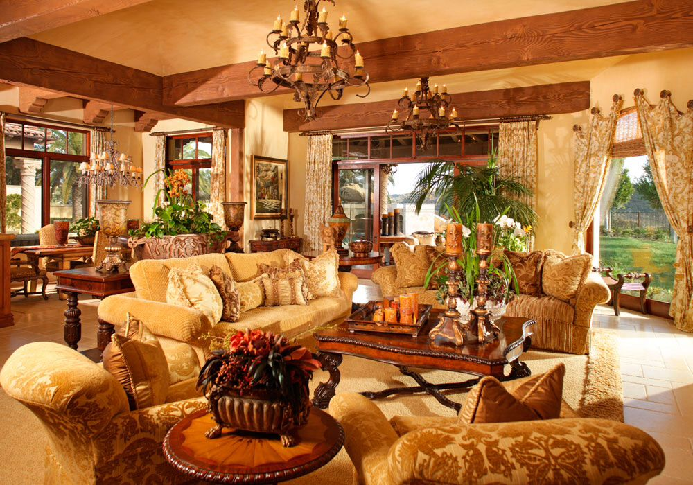 Old world decor old world tuscan decor inspiration for Luxury traditional homes