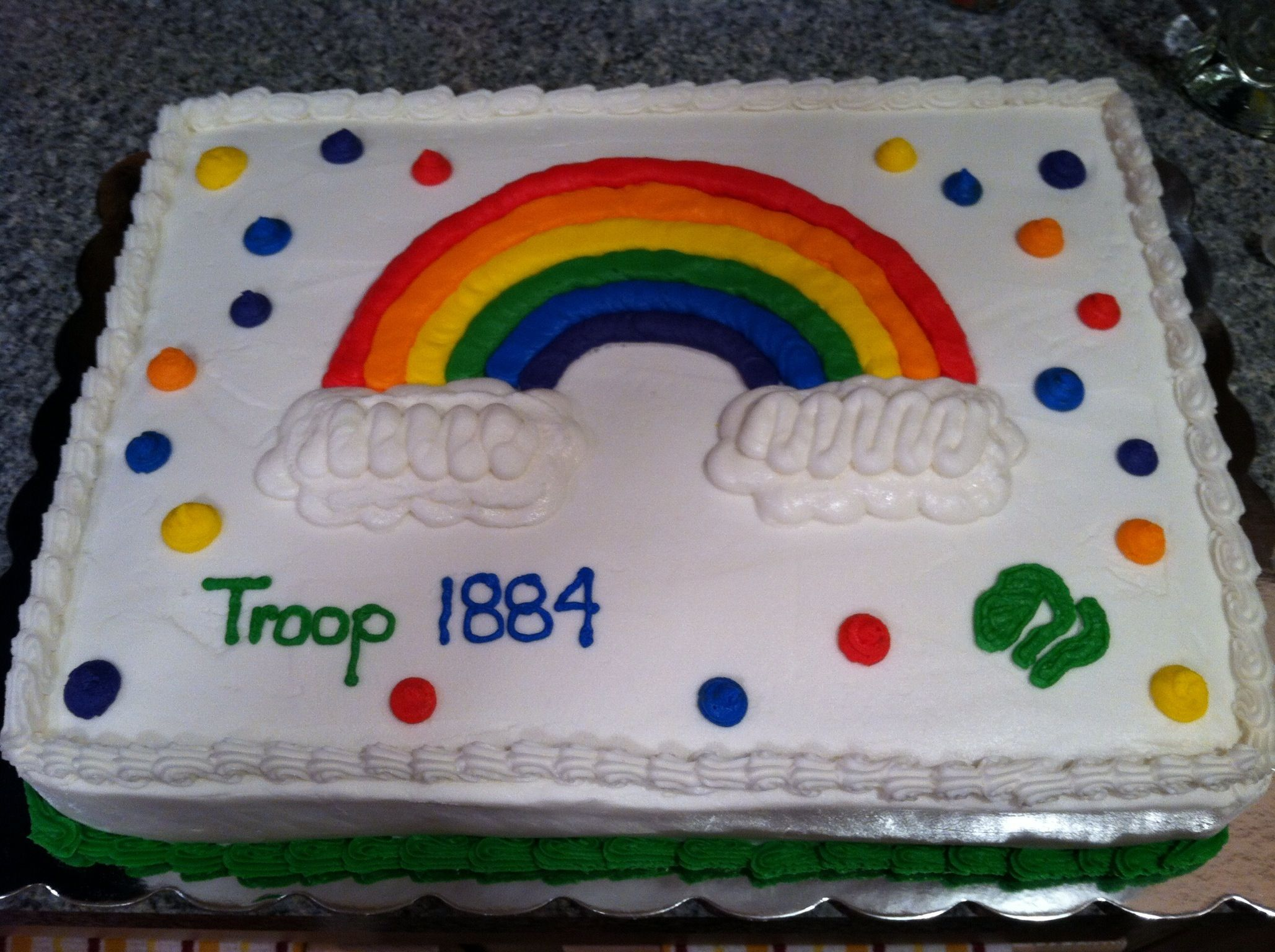 Cake Ideas For Girl Scouts : Girl Scout Bridge Day cake. Girl Scout Ideas Pinterest