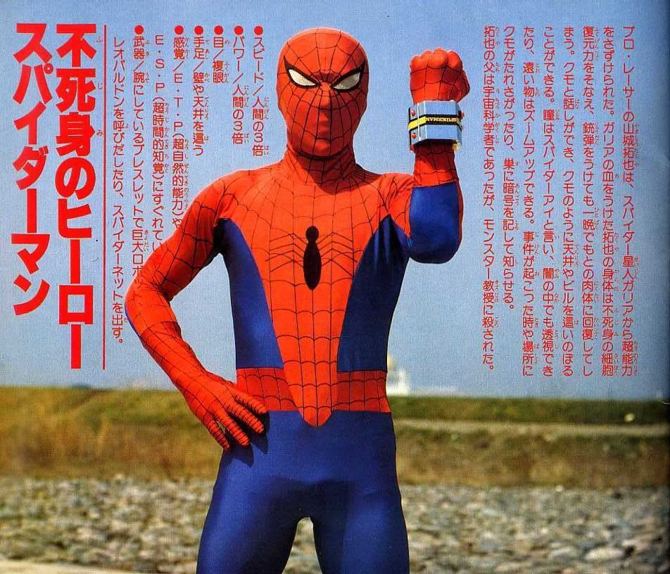 スパイダーマン 東映 dvd