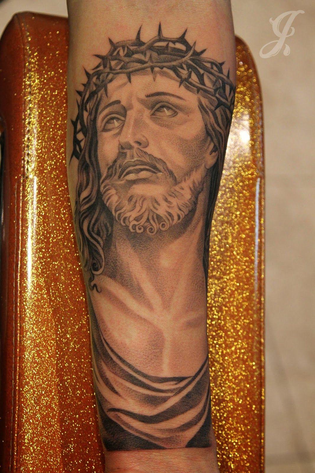 Jesus tattoo by...