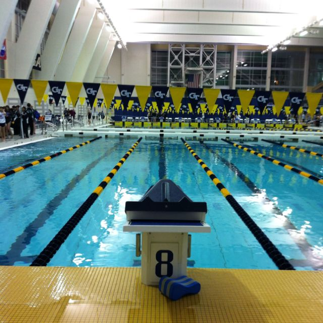 Georgia Tech Swimming Pool Best College In The Usa Pinterest