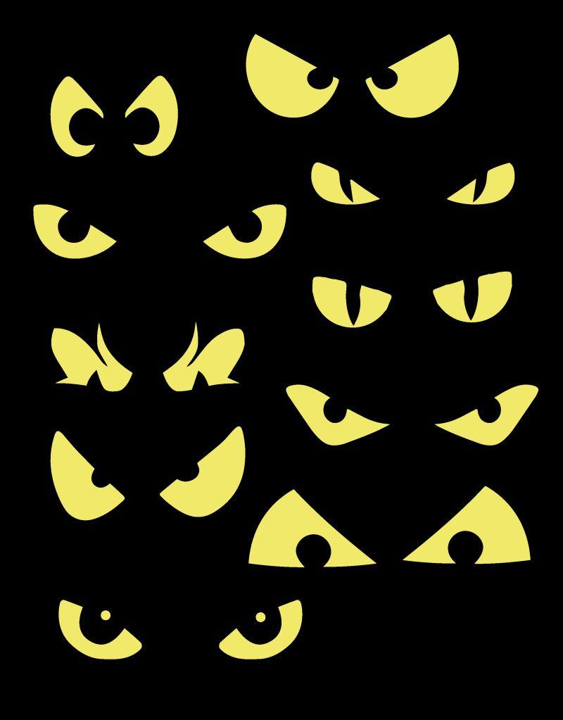 halloween eyes video