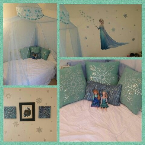 Frozen Inspired Bedroom On Pinterest Frozen Bedroom Disney Frozen Bedroom And Frozen Bedding