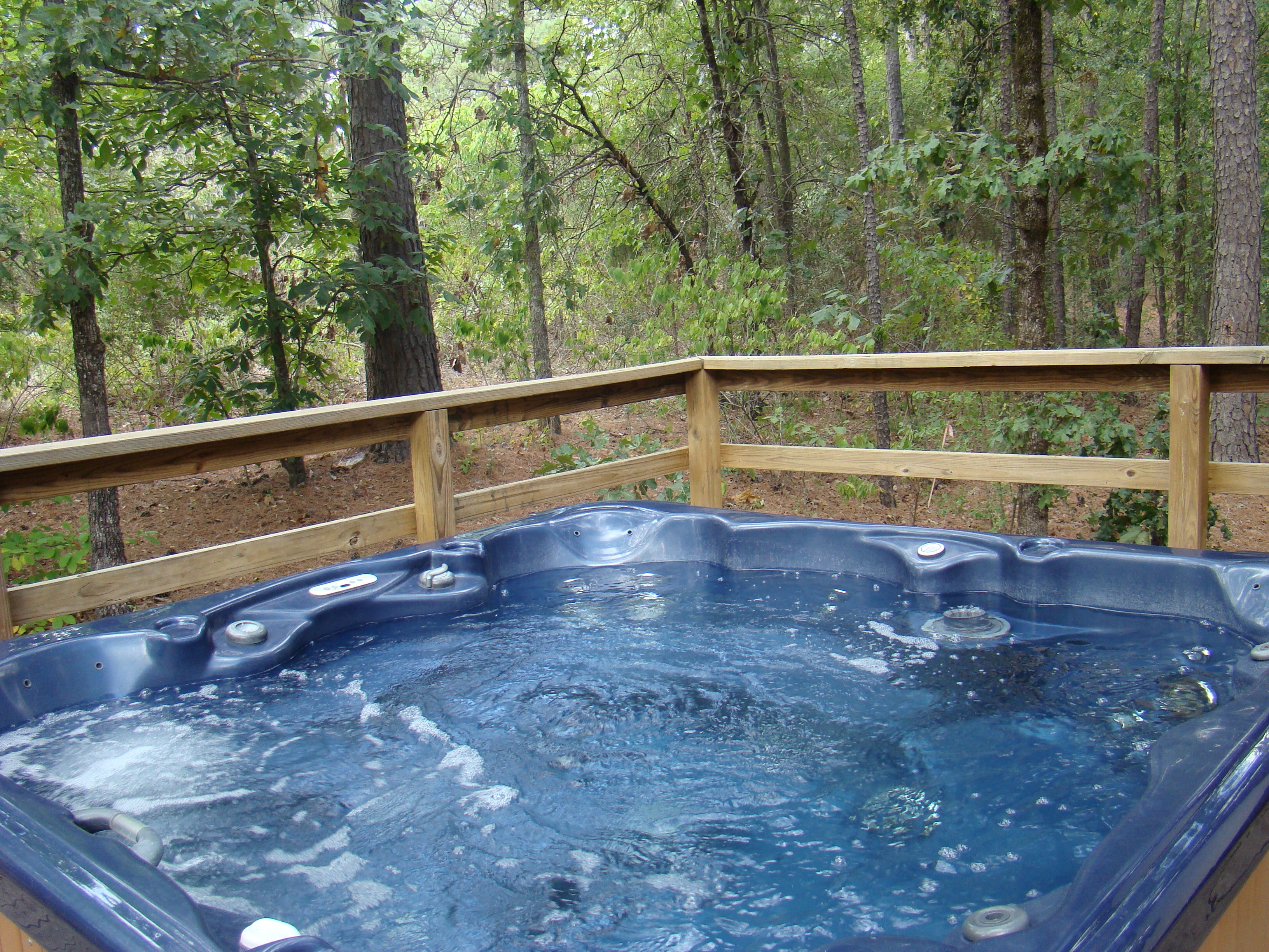 Large hot tub ahhhh relaxing romantic hot tubs for Hot tubs for tall people