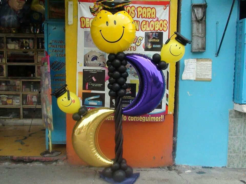 Graduacion Decoracion ~ Decoracion de graduacion  Balloon decorations  Pinterest