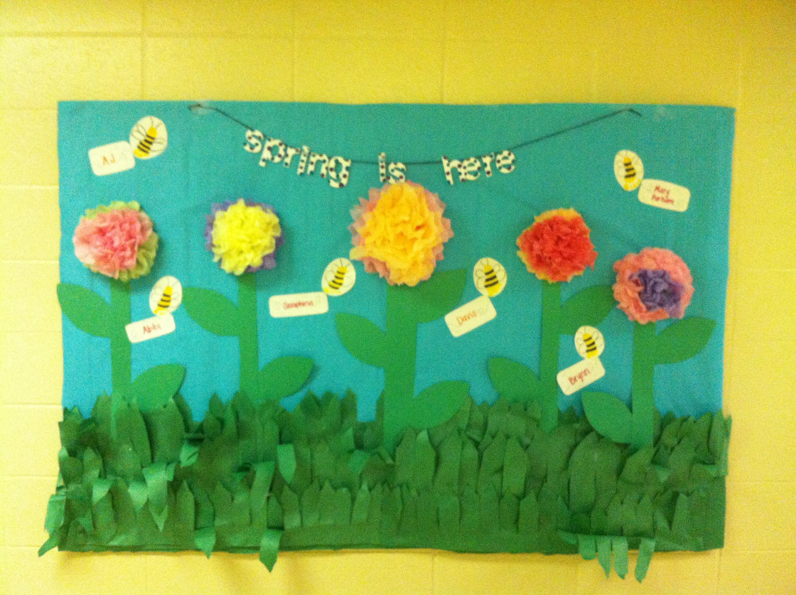 March bulletin board | kindergarten | Pinterest