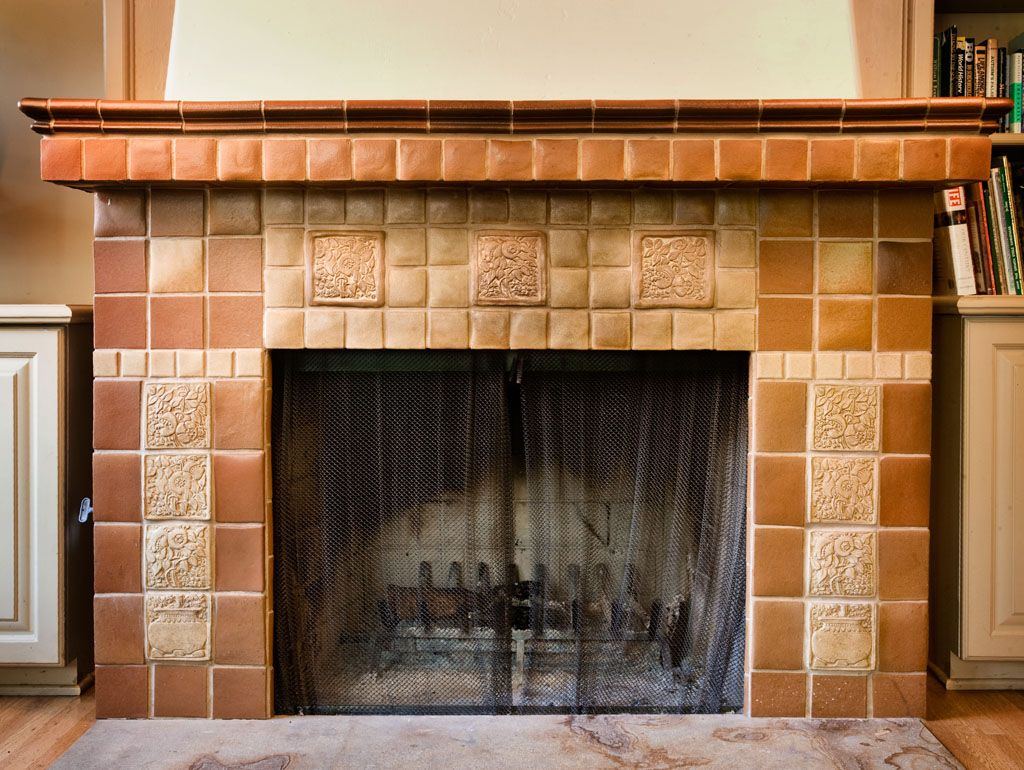 Fireplace Craftsman Style Pinterest