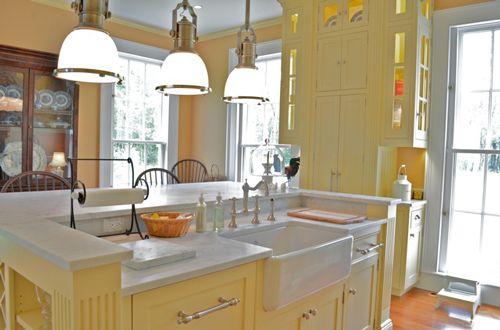 yellow kitchen 209 pinterest