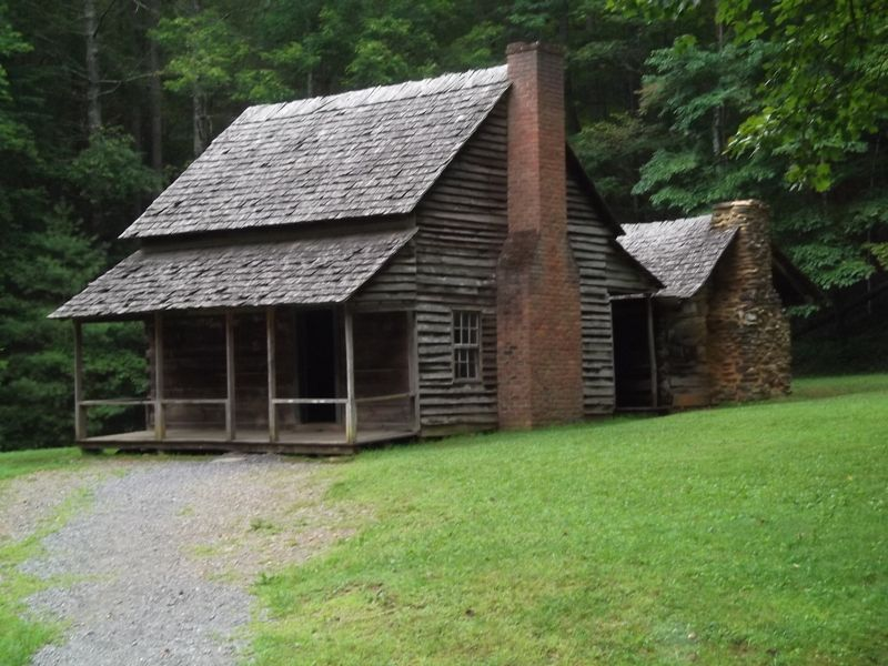 Early Cabin Cades Cove Tn Cabins Pinterest