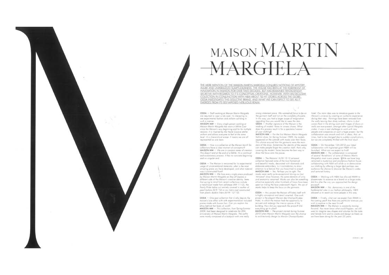 The gallery for maison martin margiela logo for Maison brand