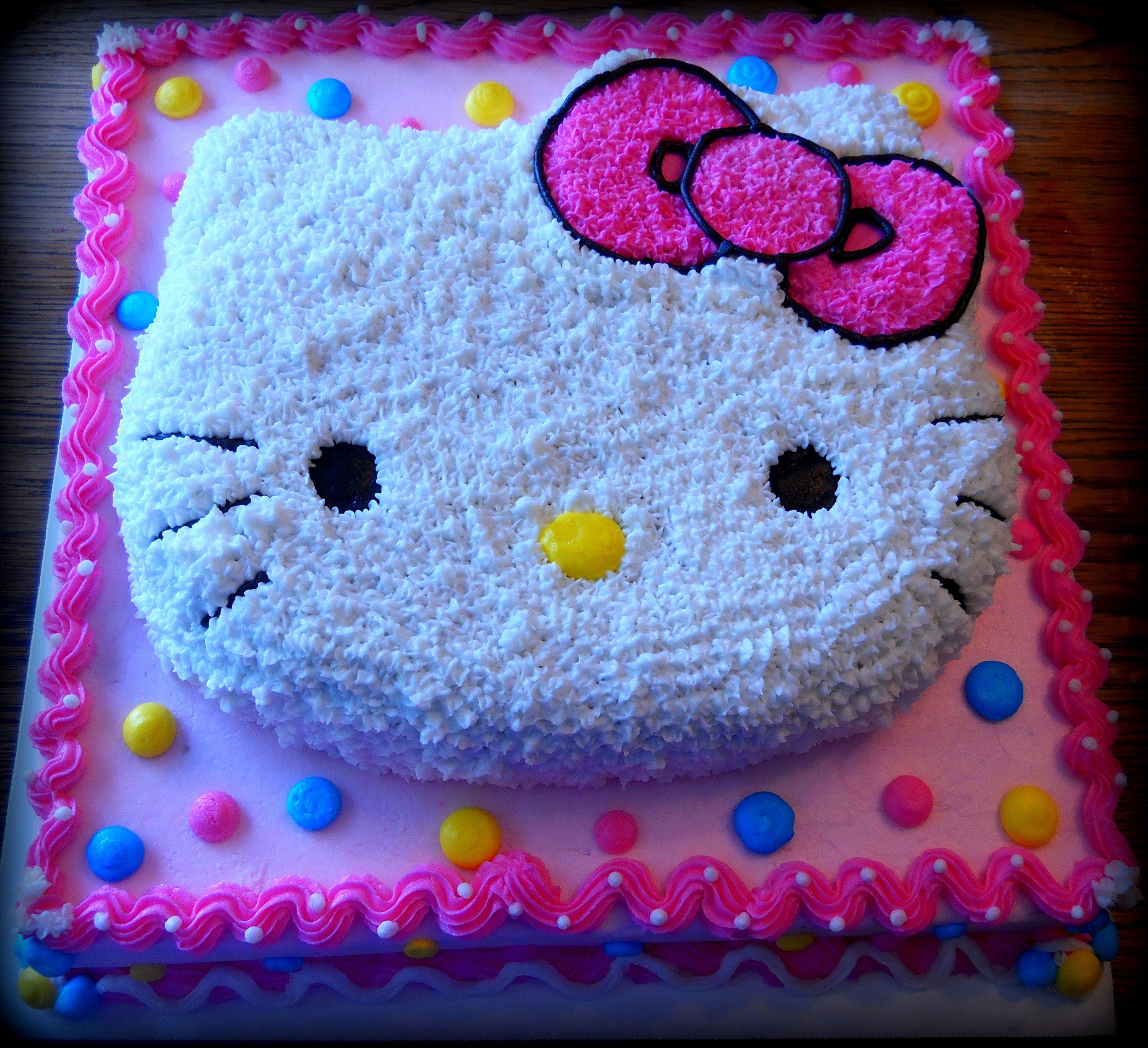 Hello Kitty Birthday Cake  Cakes and Decorating Ideas