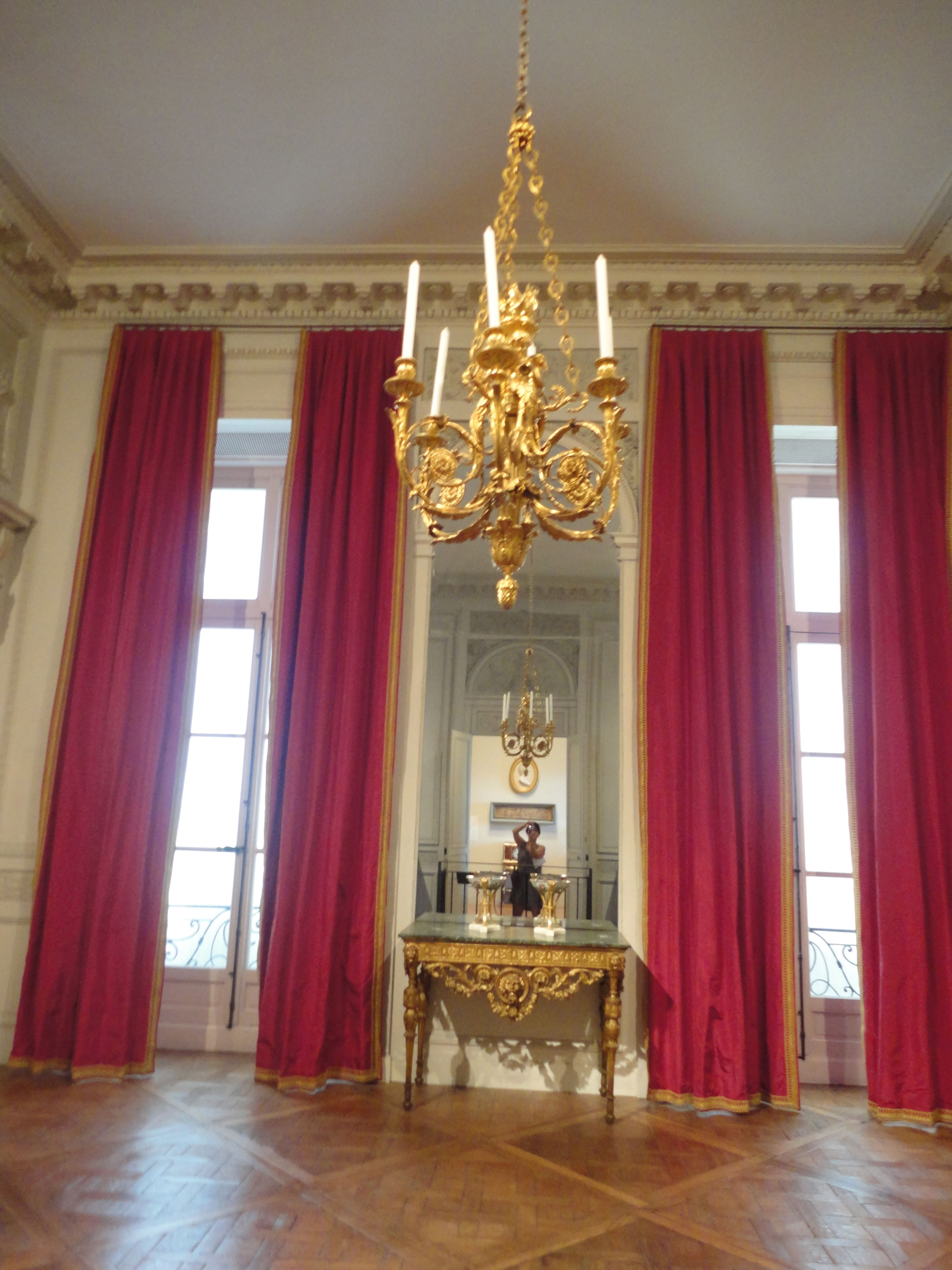 18th c window treatments neoclassic pinterest