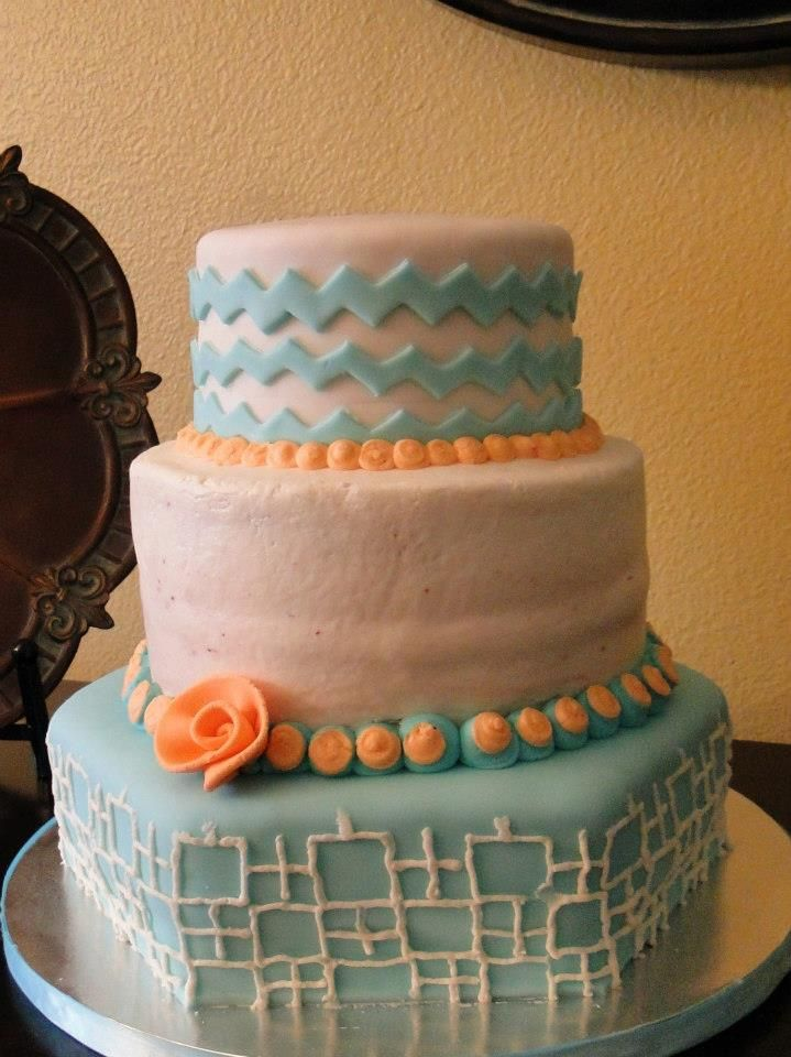 Cake Decorating With Buttercream Pinterest : Living Room Decorating Ideas: Buttercream Baby Shower Cake ...