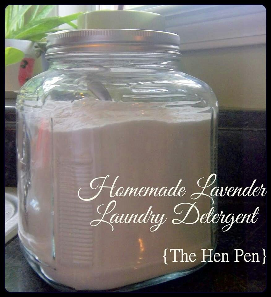 Homemade Lavender Laundry Detergent Decorations Pinterest