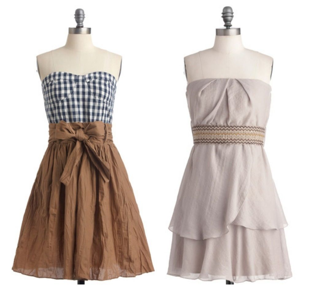Casual bridesmaid dresses summer wedding wedding for Summer casual wedding dresses