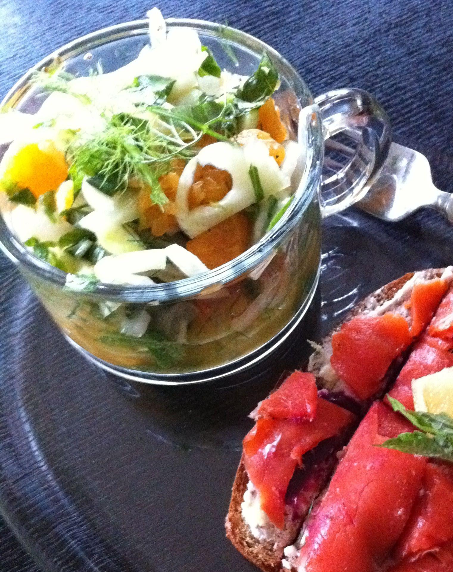 fennel orange mint salad. | tried and liked | Pinterest