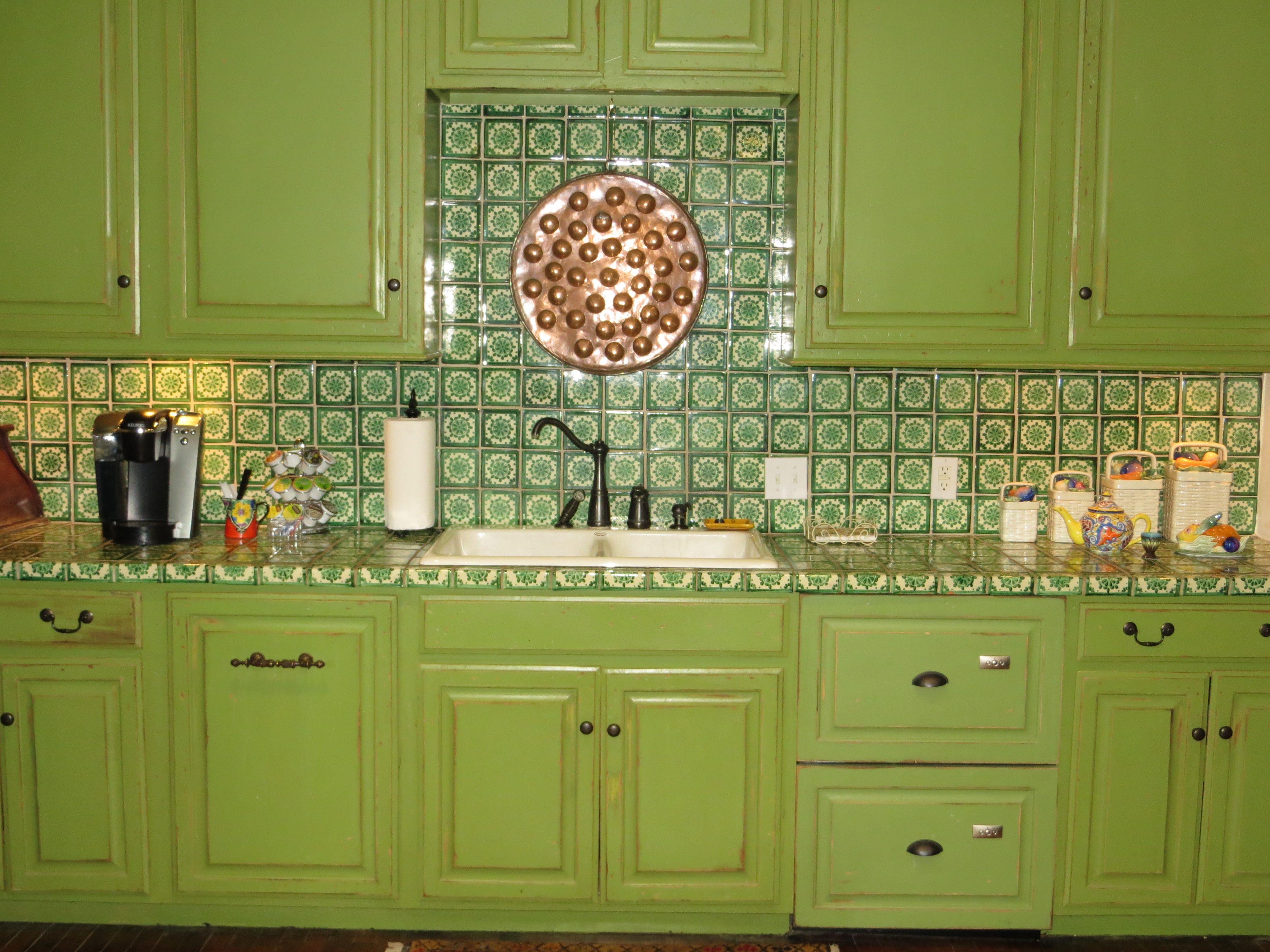 Mexican style kitchen mine hacienda style pinterest for Mexican style kitchen pictures
