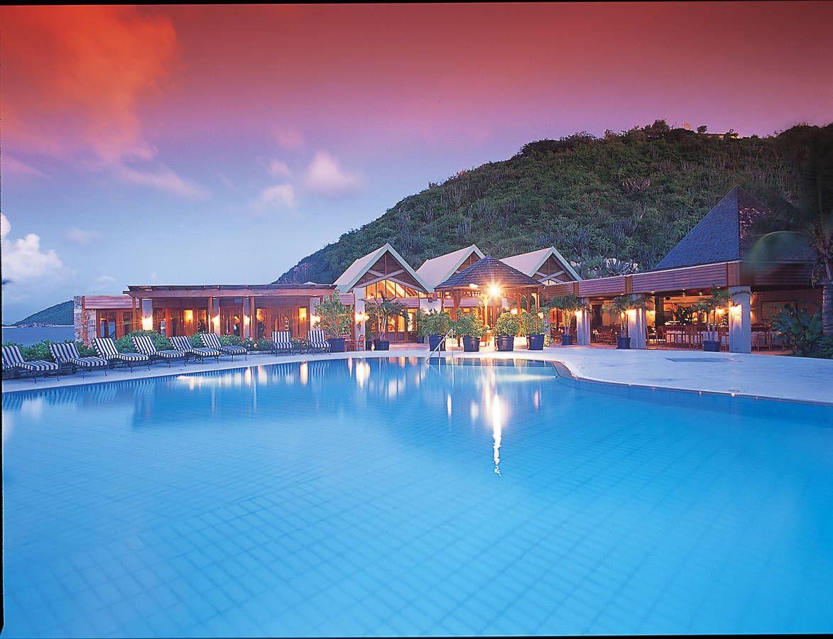 Sunset view of Peter Island Resort | British Virgin ...