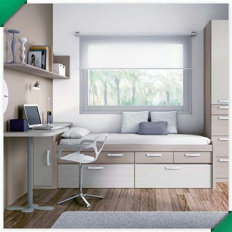 Dormitorio juvenil dormitorio juvenil 079 112012 for Muebles vila de cambre