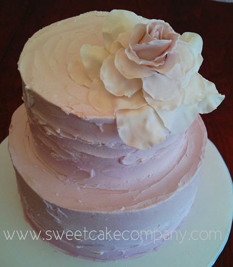 buttercream frosting wedding cake ideas Pinterest