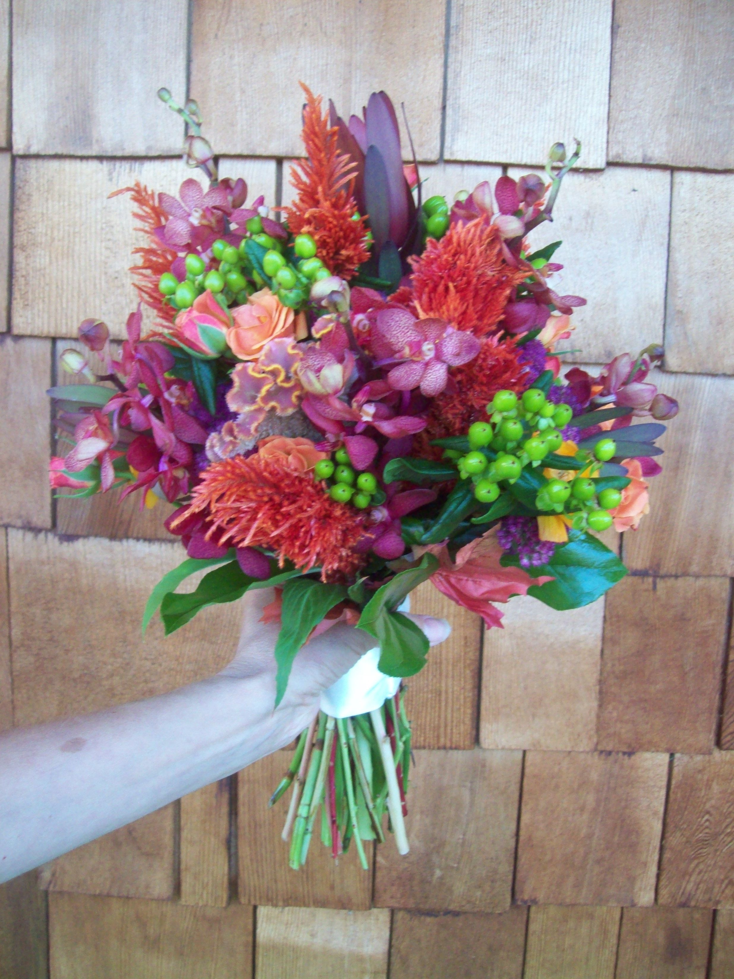 Fall Exotic Mix From Cleveland Florist Wedding Flowers Pinterest