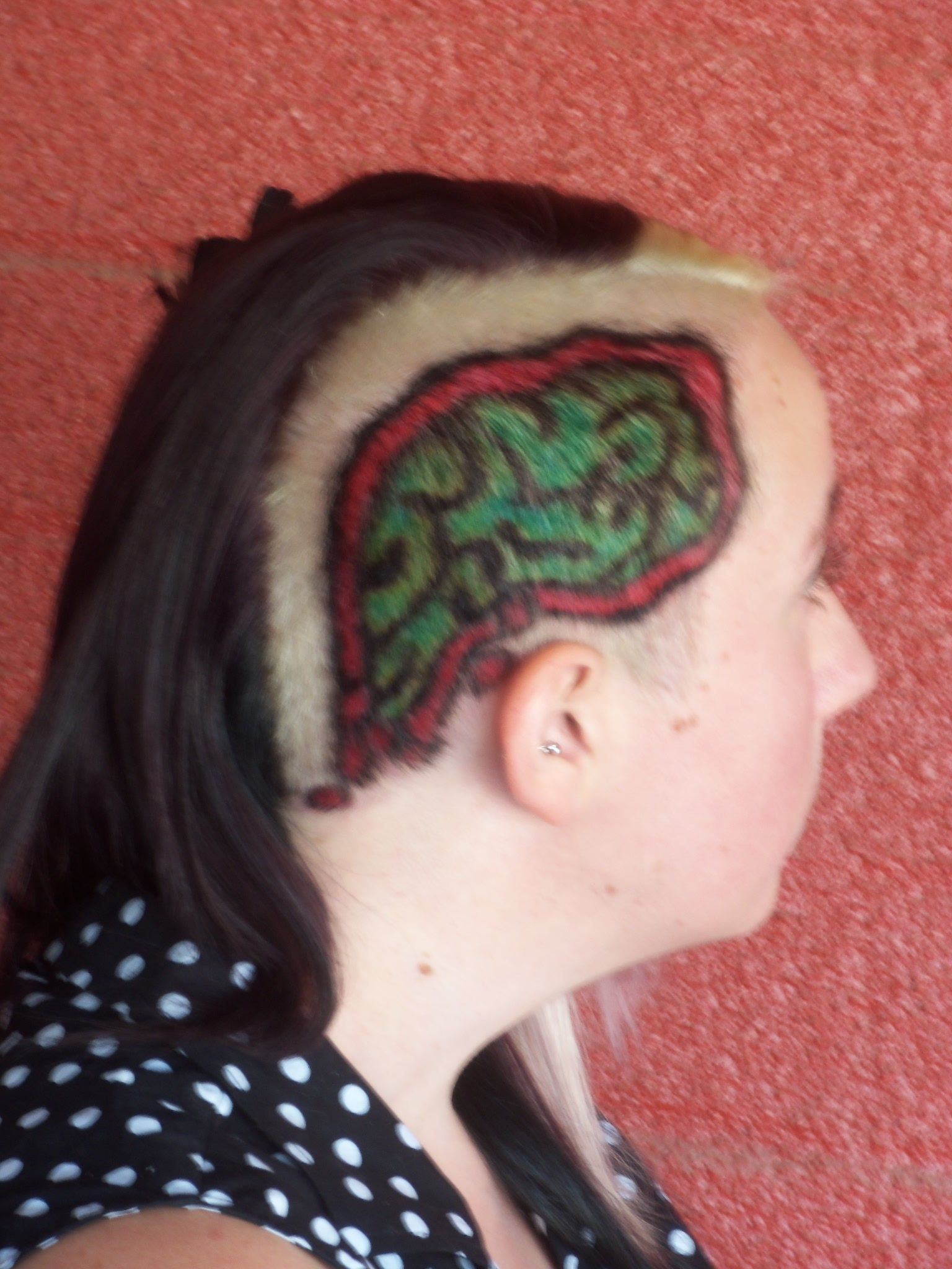 Zombie Hairstyles For Short Hair : Zombie Brains Hairstyle Hair by Fawnomenal Pinterest