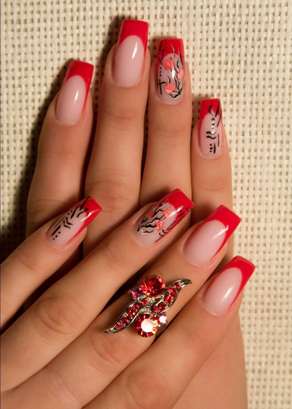 Китайские иероглифы рисунки на ногтях