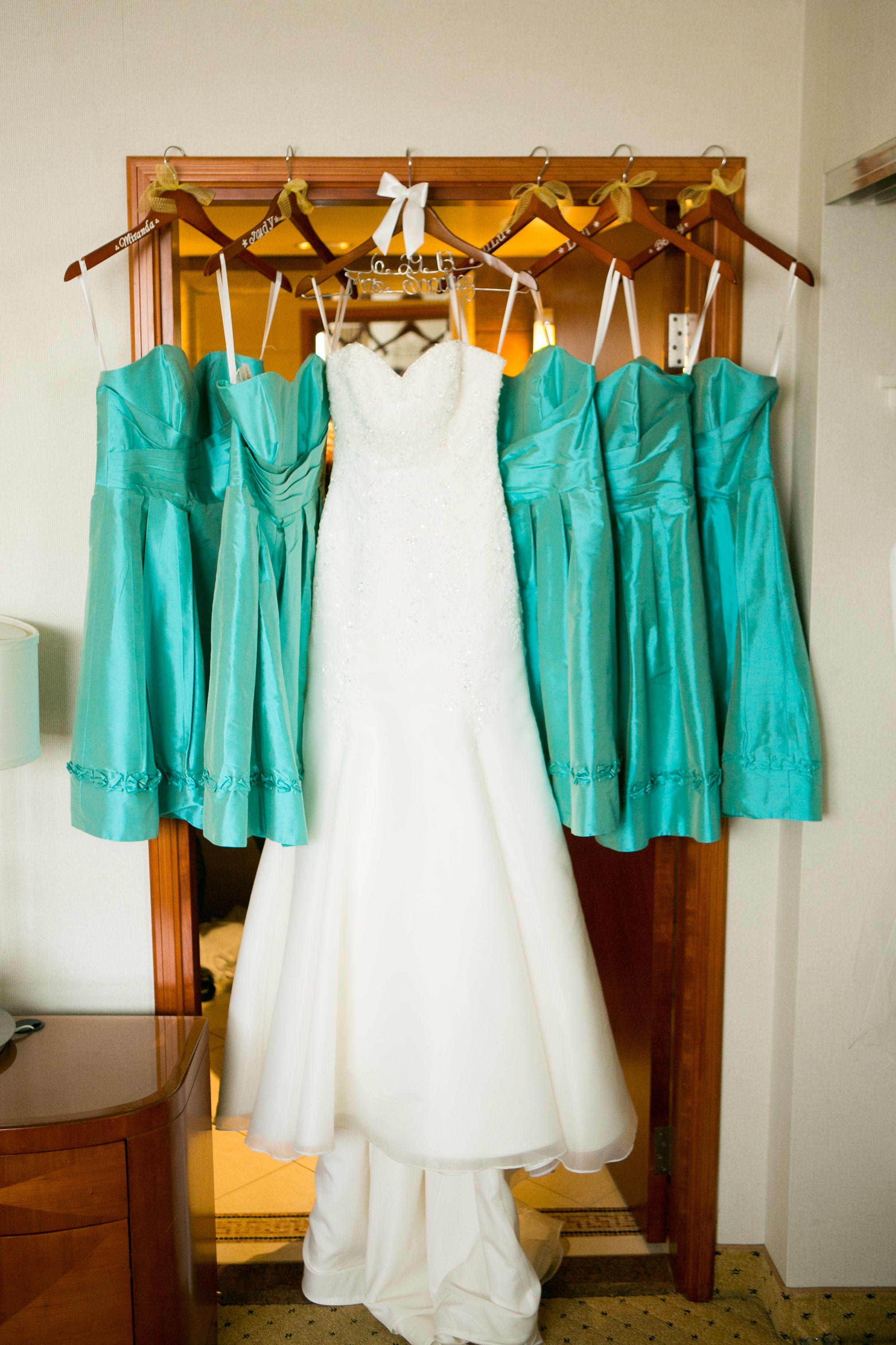 Tiffany blue bridesmaid dresses tiffany pinterest for Wedding dresses with tiffany blue