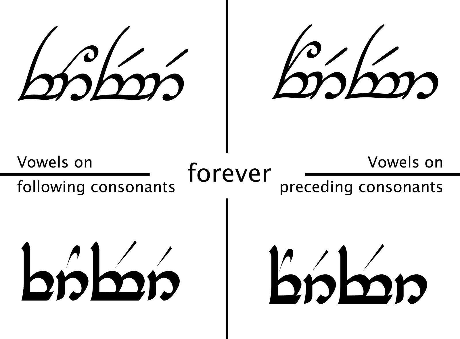 Elvish Couples Tattoos