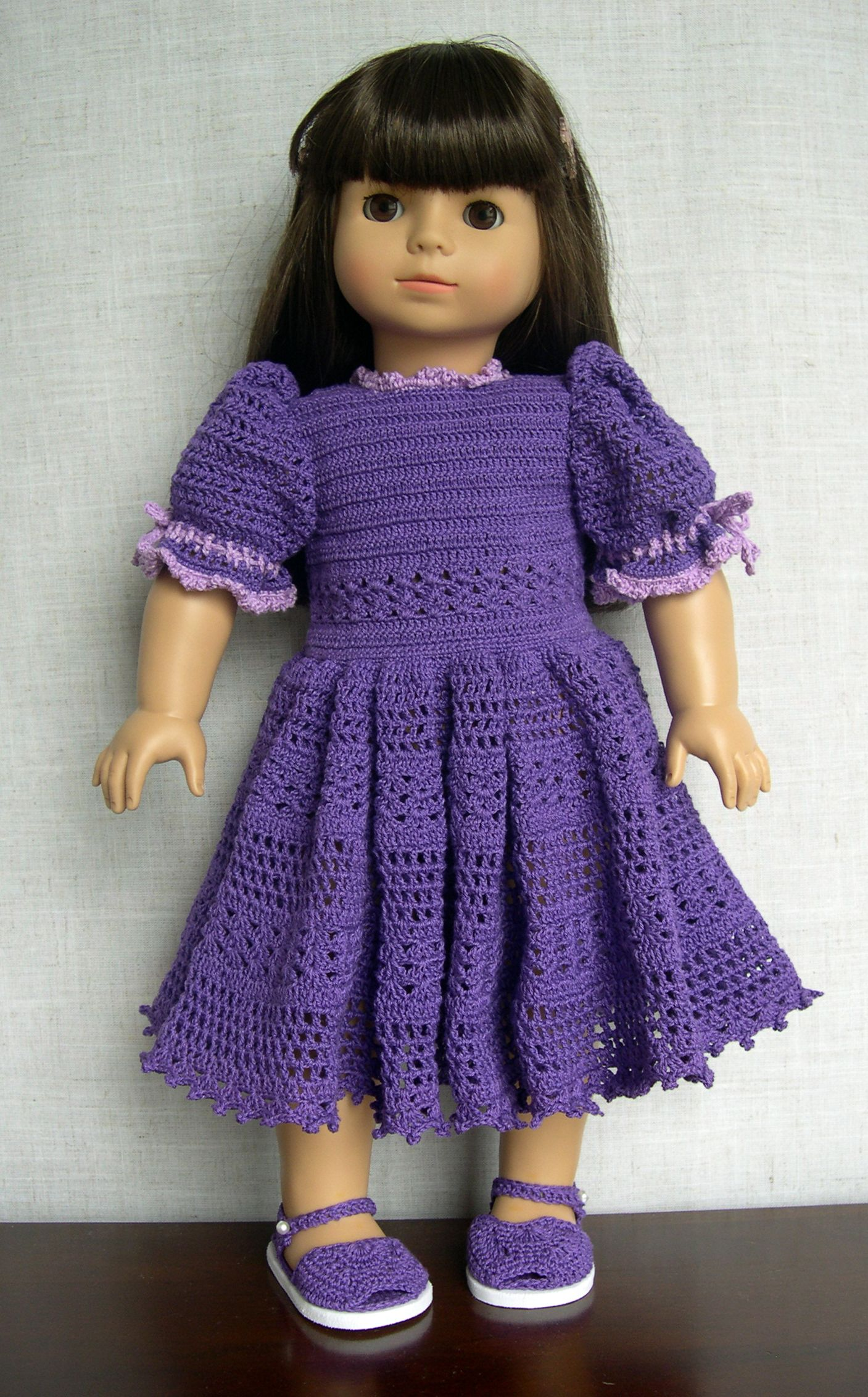 Crochet Dress Up Doll Pattern : Pin by Ellen Lord on 18 inch doll clothes and accessories ...