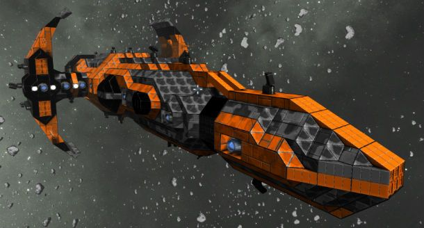Как сделать корабль корабли в space engineers 493