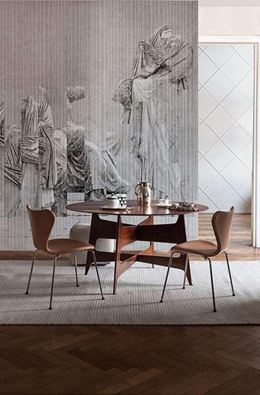 carta da parati wall deco carte da parati walludec with lino antidrapant. Black Bedroom Furniture Sets. Home Design Ideas