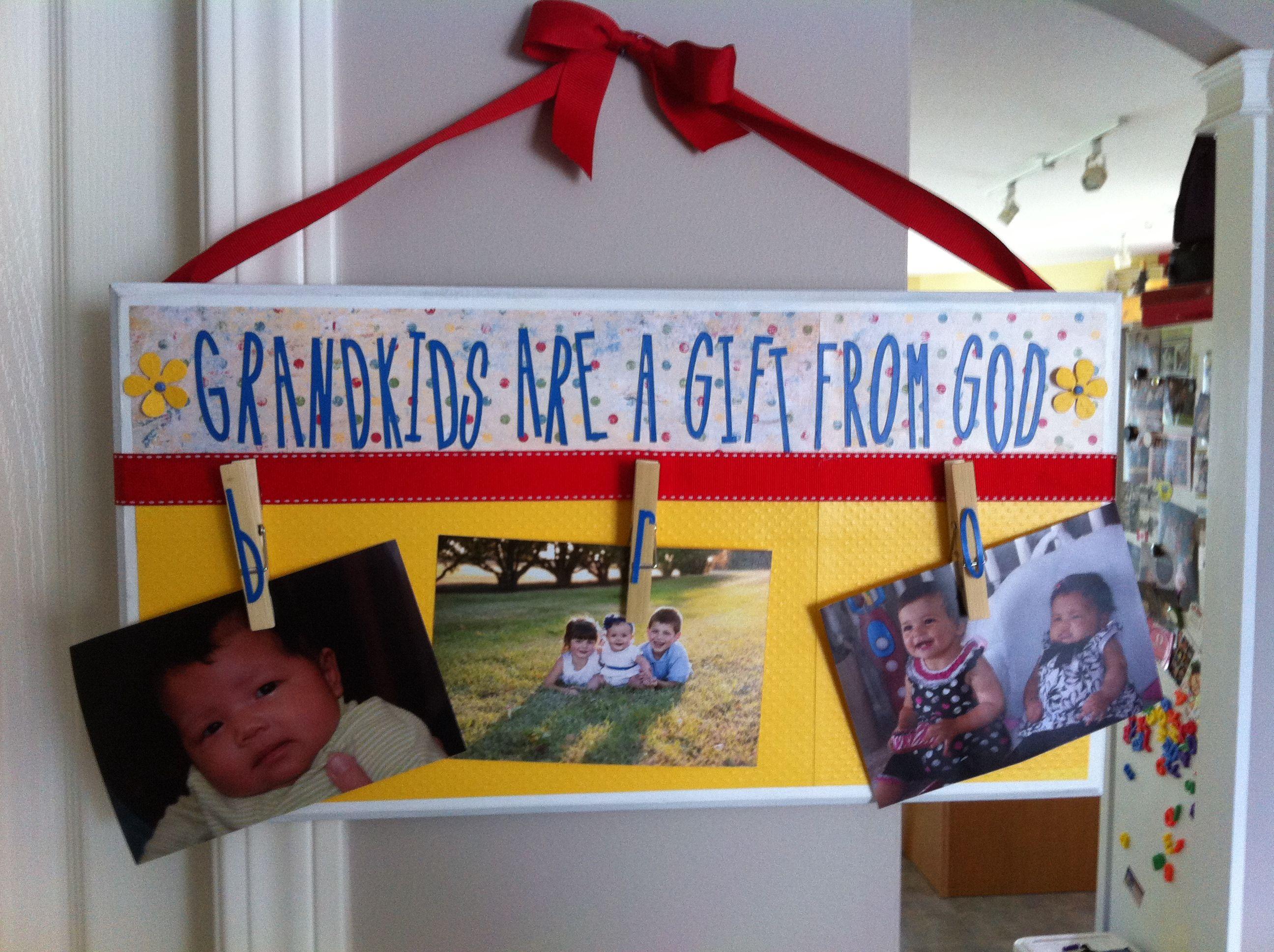 Diy birthday gift for grandma gifty ideas pinterest for Good birthday presents for grandma