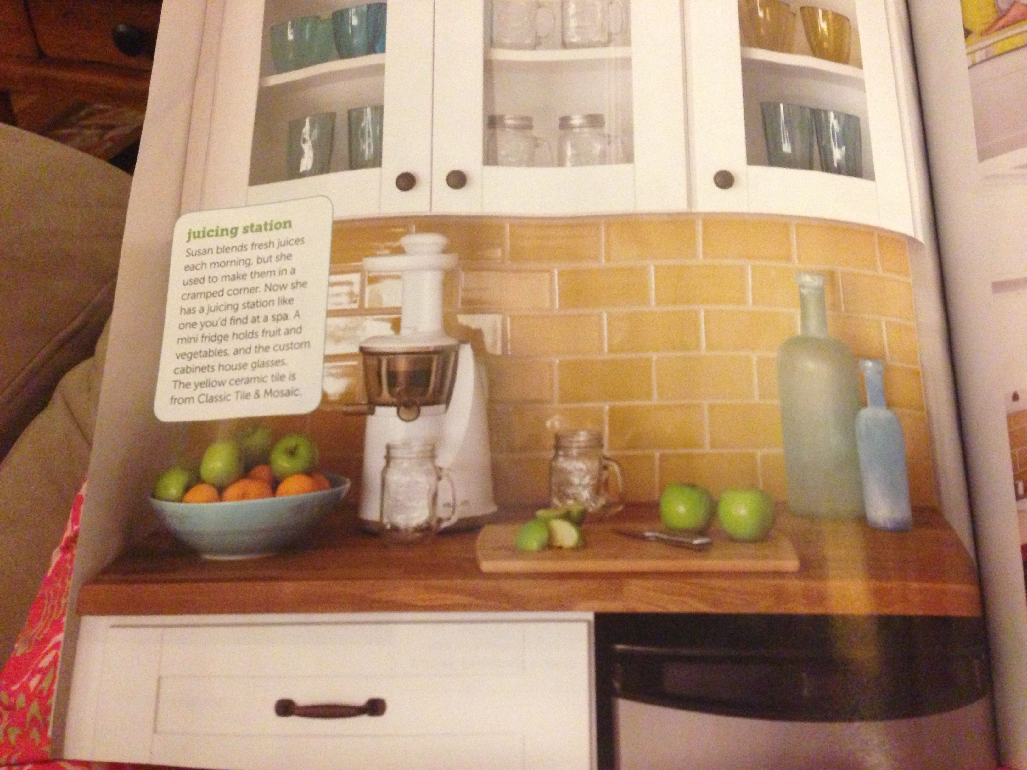 yellow subway tile in kitchen home sweet home pinterest