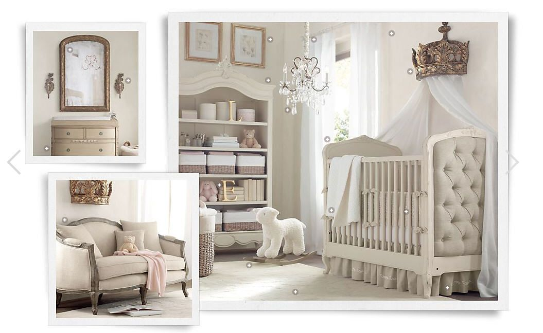 Nursery decor baby nursery pinterest for Baby crib decoration