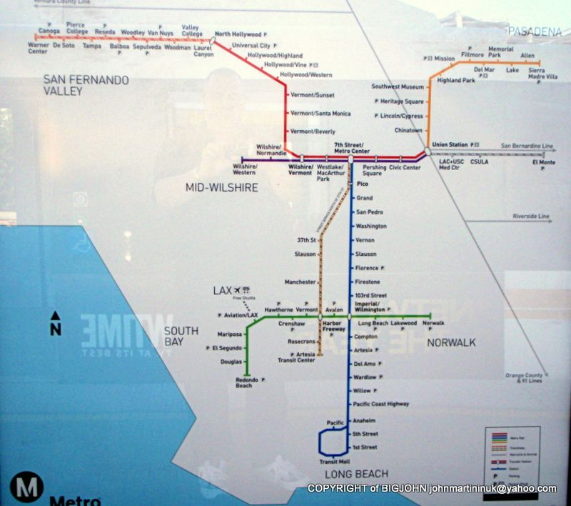 LOS ANGELES METRO MAP  Metro Maps  Pinterest