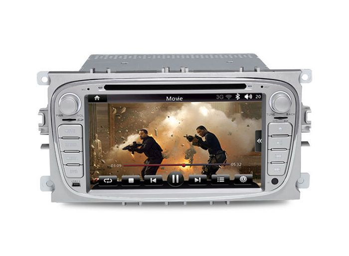 2 din in dash car pc car dvd player for ford focus mondeo with gps radio bluetooth tv 3g wifi