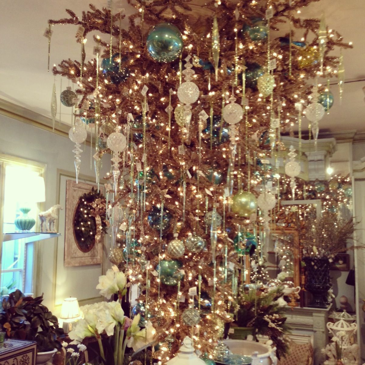 Upside Down Christmas Tree Love It Christmas Pinterest