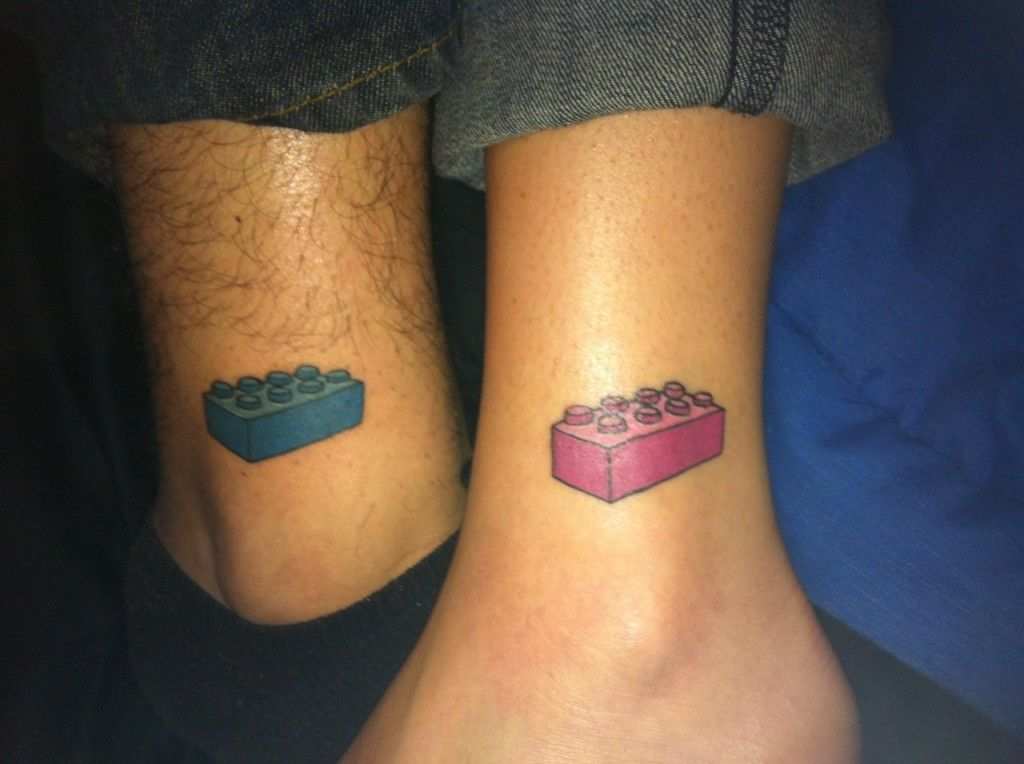 his and her lego tattoos | Body ink or Tattoos...mostly ...