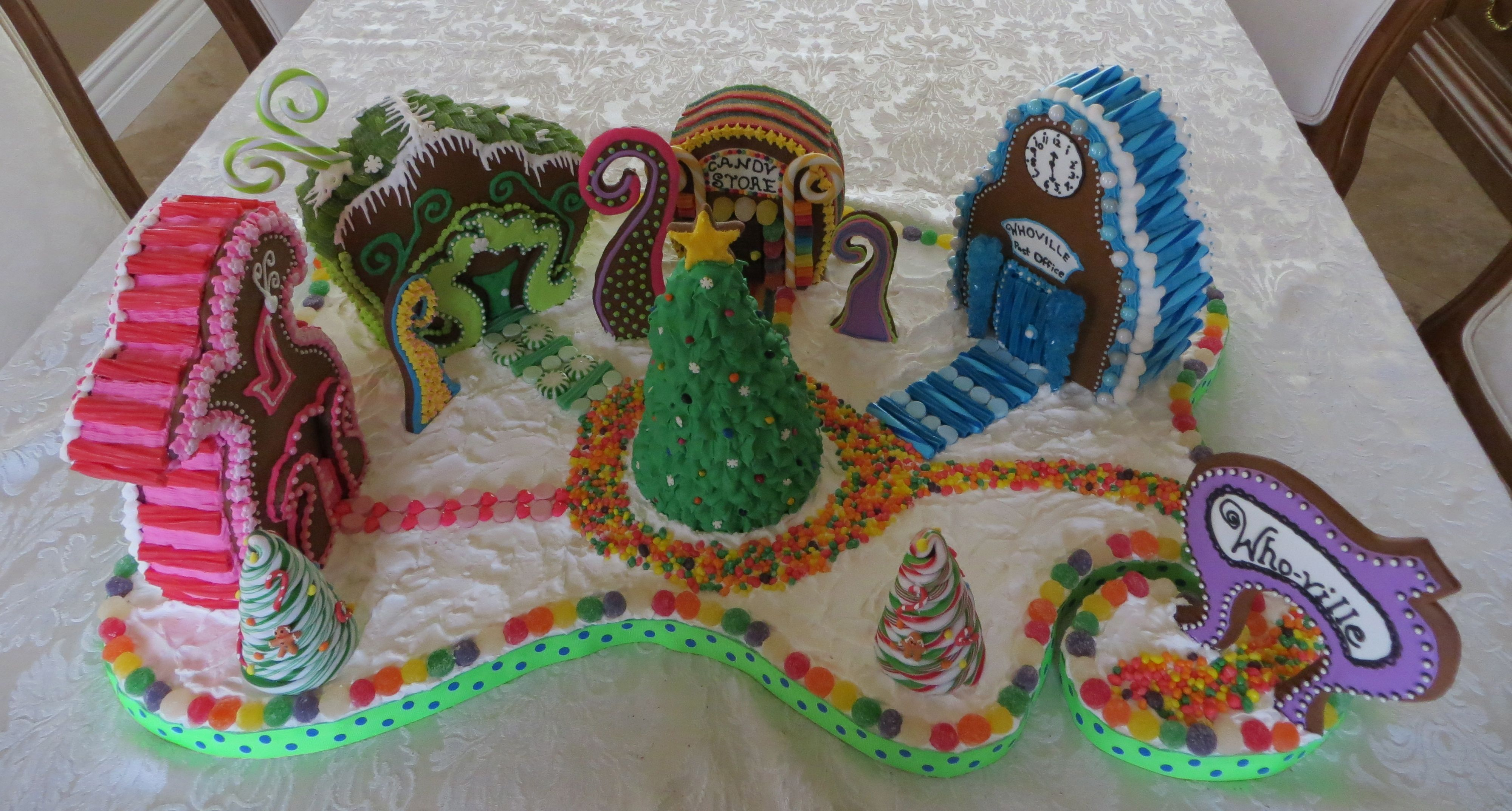 whoville gingerbread houses