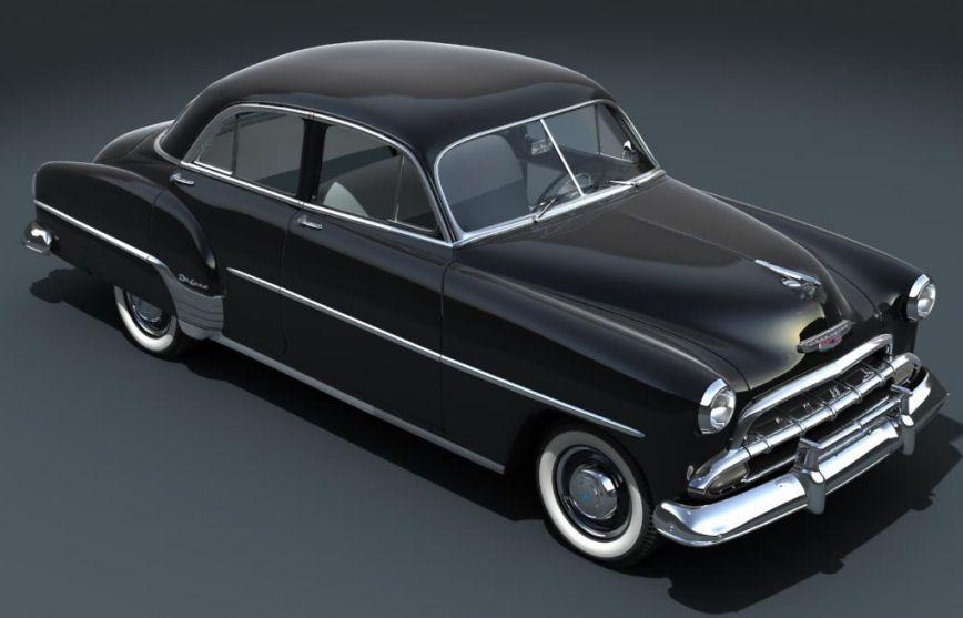 1952 chevrolet styleline voitures am ricaines 1945 for 1952 chevrolet styleline deluxe 4 door