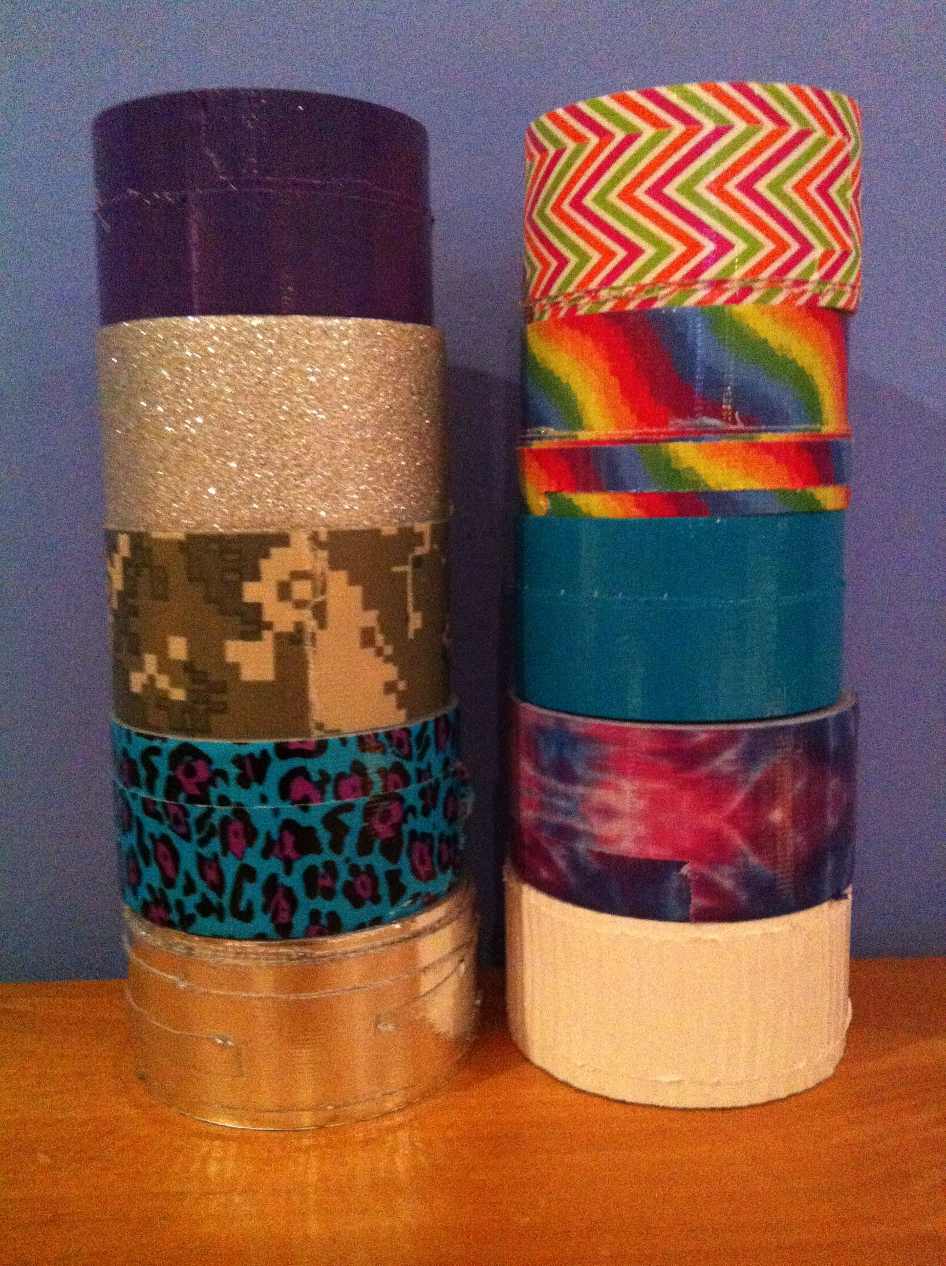 All my duct tape colors reese pinterest