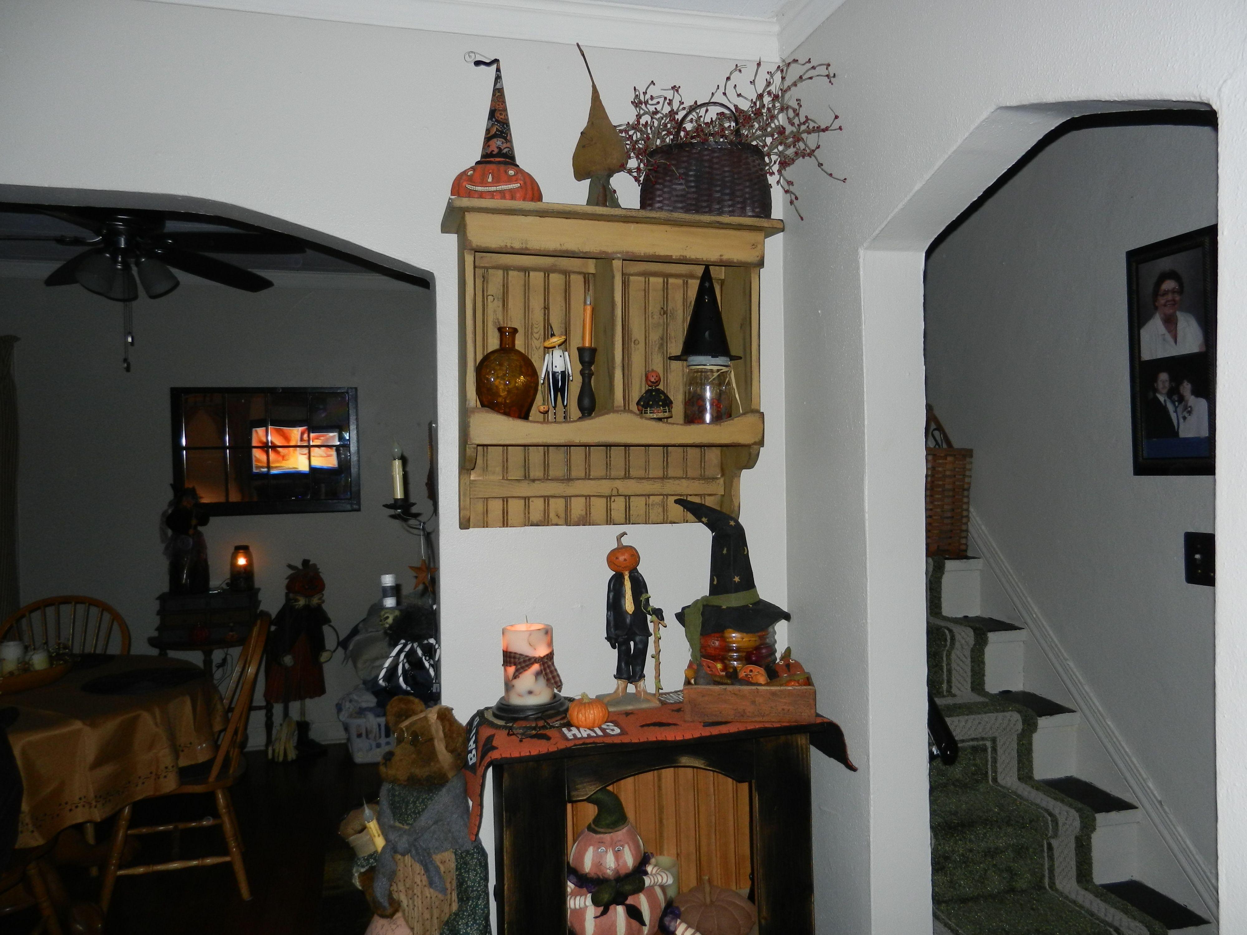 Primitive Halloween Decor Home Decorating Pinterest
