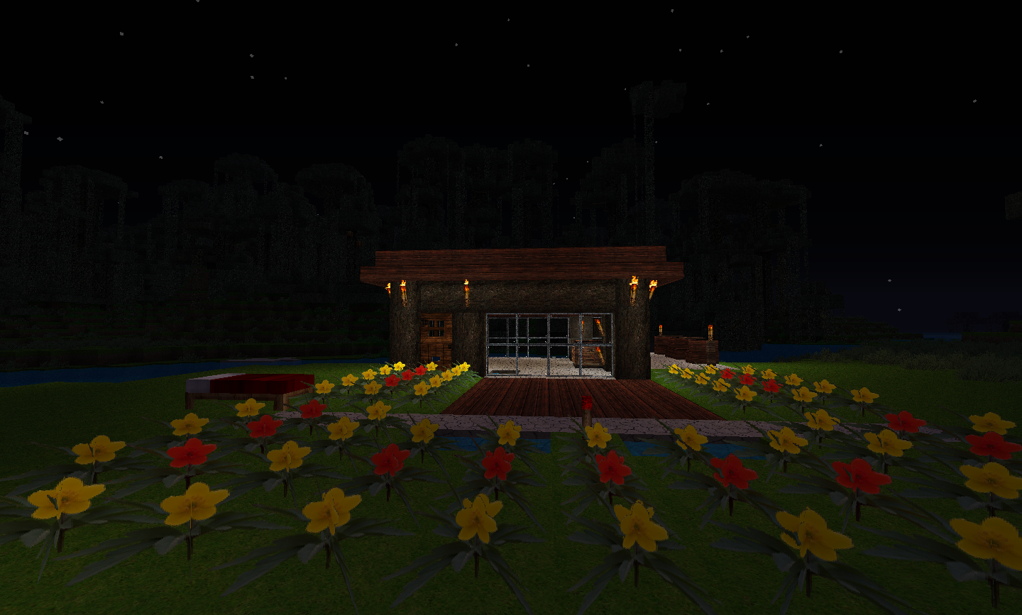 Flower In Minecraft