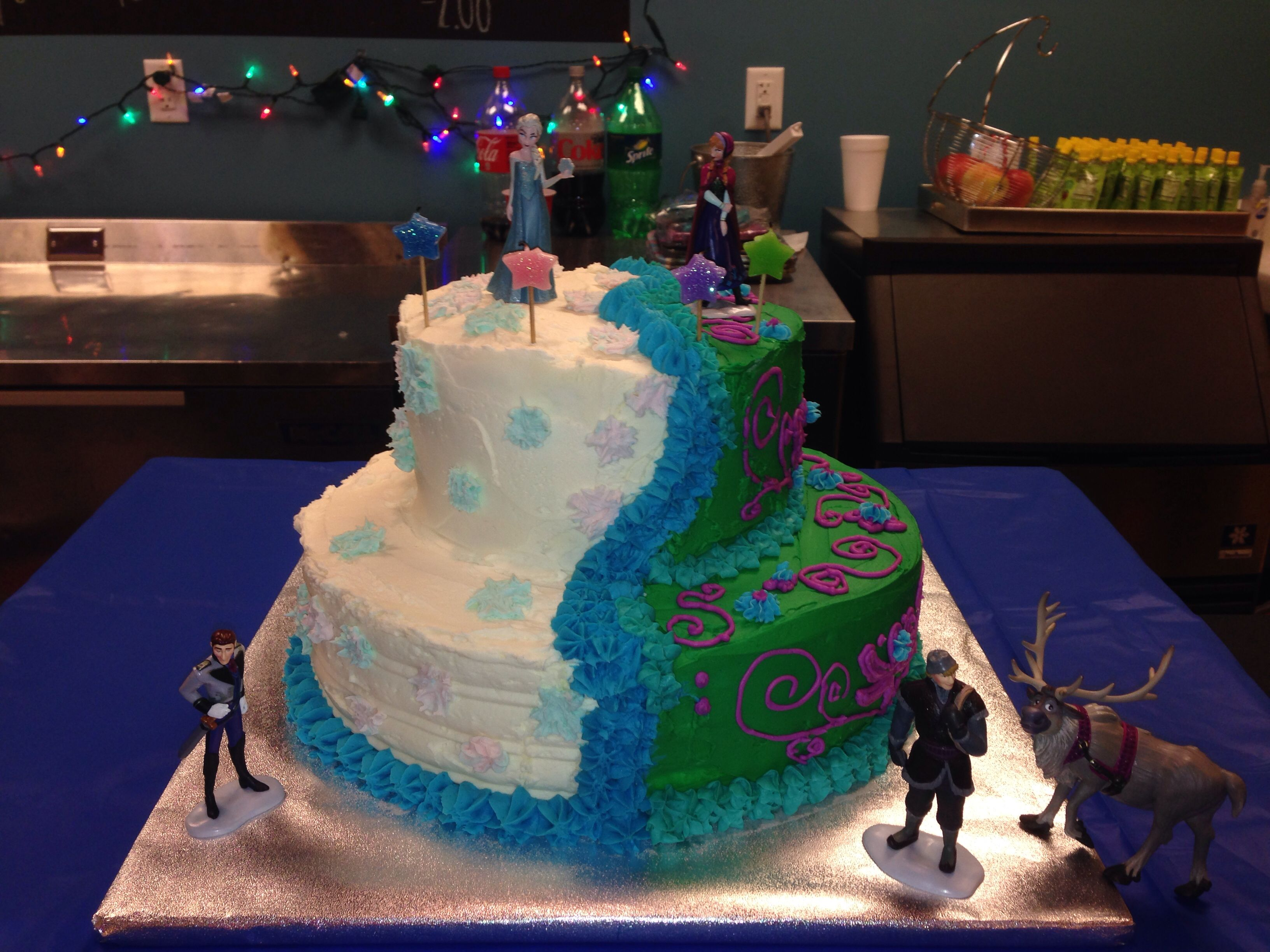 Birthday Cake Ideas Disney Frozen : Disney Frozen birthday cake Disney Pinterest