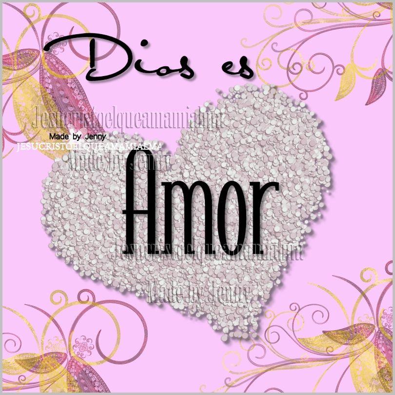 Dios es amor | El Amor | Pinterest