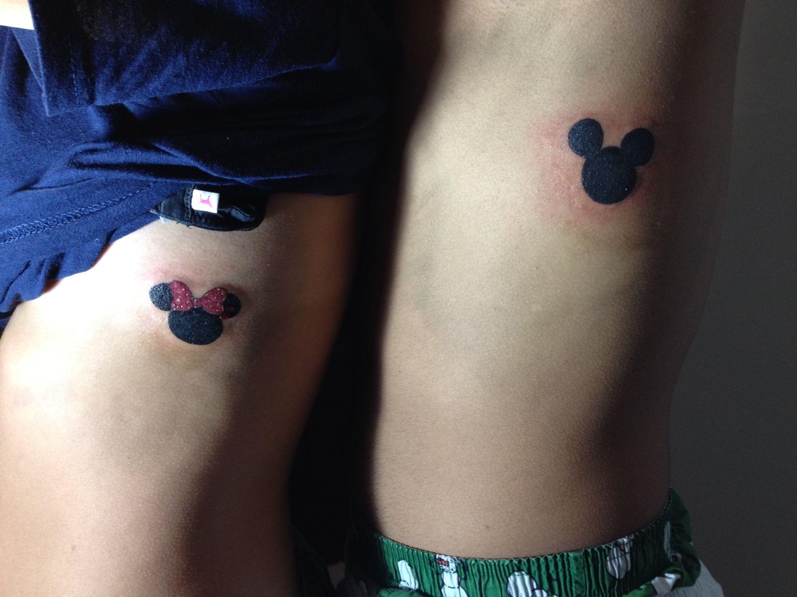 Disney couple tattoos | tattoo. | Pinterest