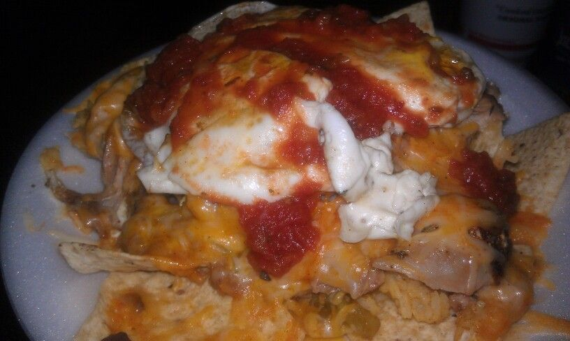 Homemade Chilaquiles | Food & Drink that I love | Pinterest