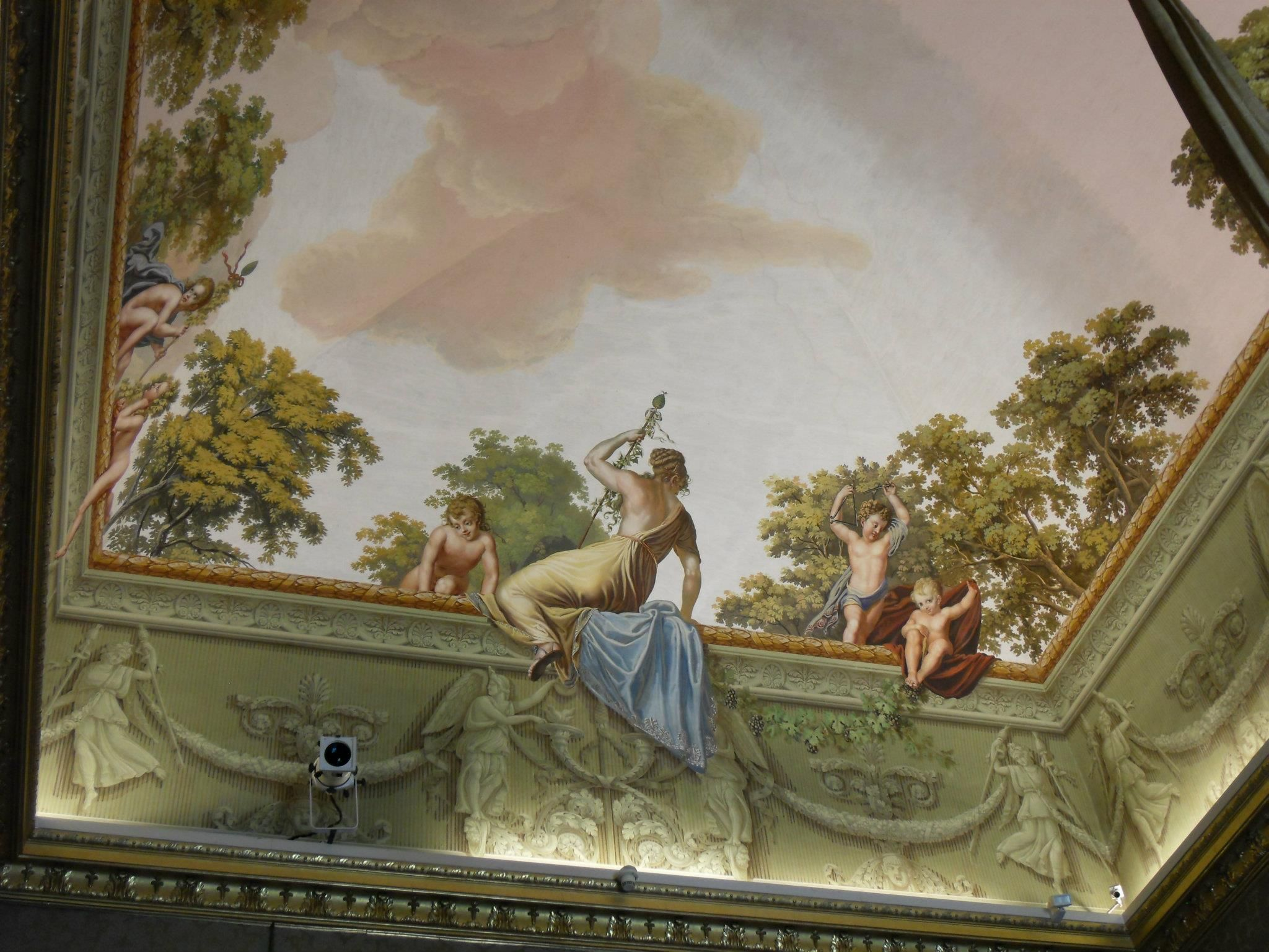 ceilings with mural art - photo #9