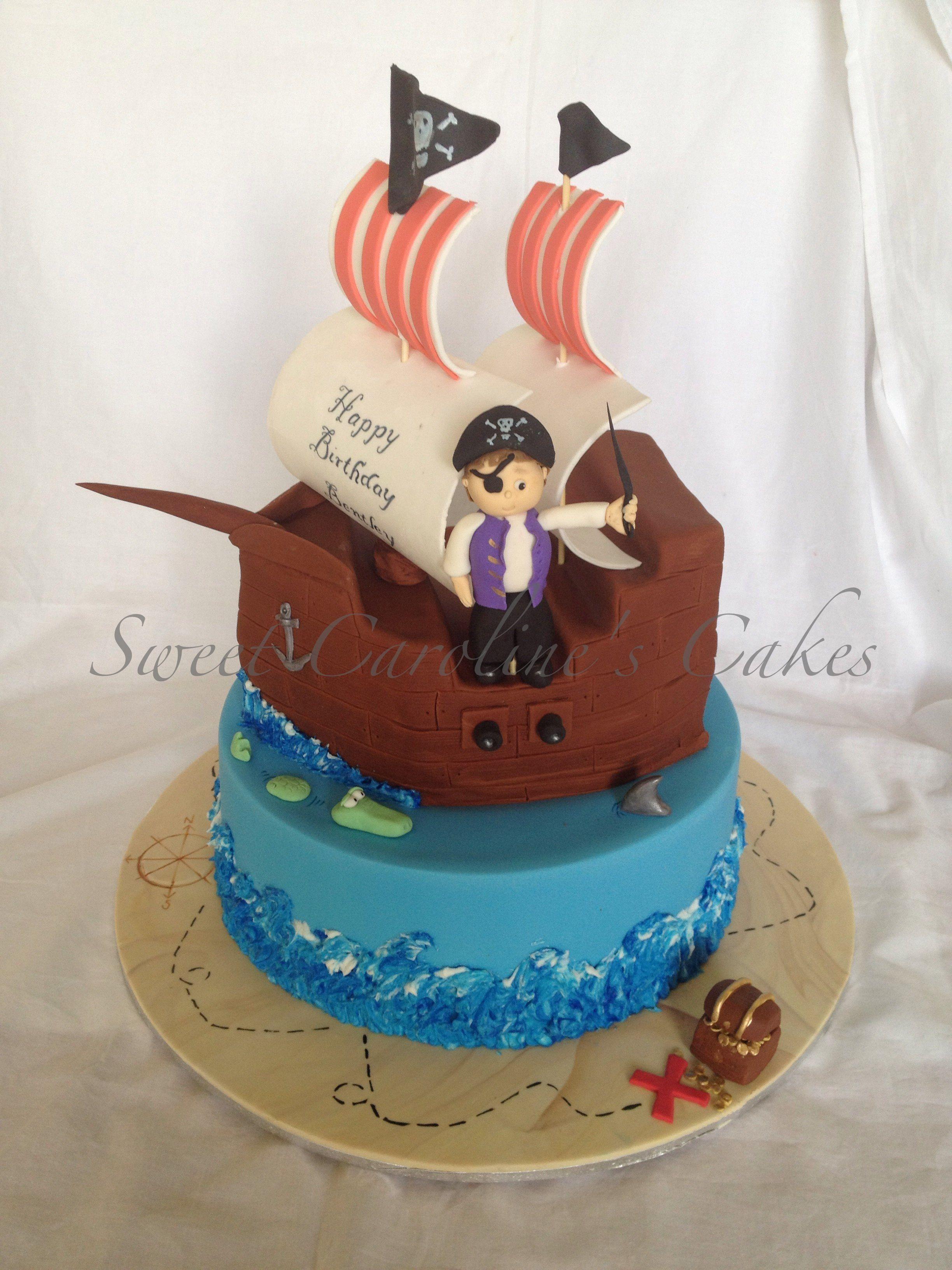 Cake Designs Pirate Ship : Pirate ship cake Cake Ideas Pinterest